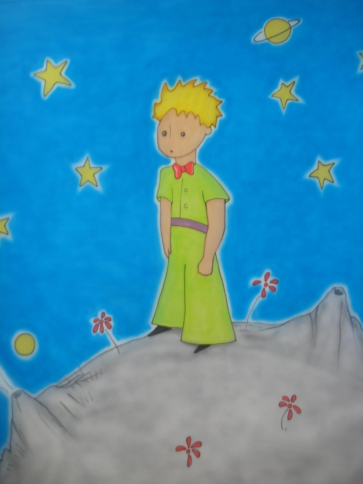 Quarto Infantil O Pequeno Principe ~ Francez Pintura Infantil Pequeno Pr?ncipe