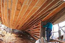construyendo lanchas Chiloé