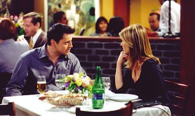 Joey and Rachel from Friends