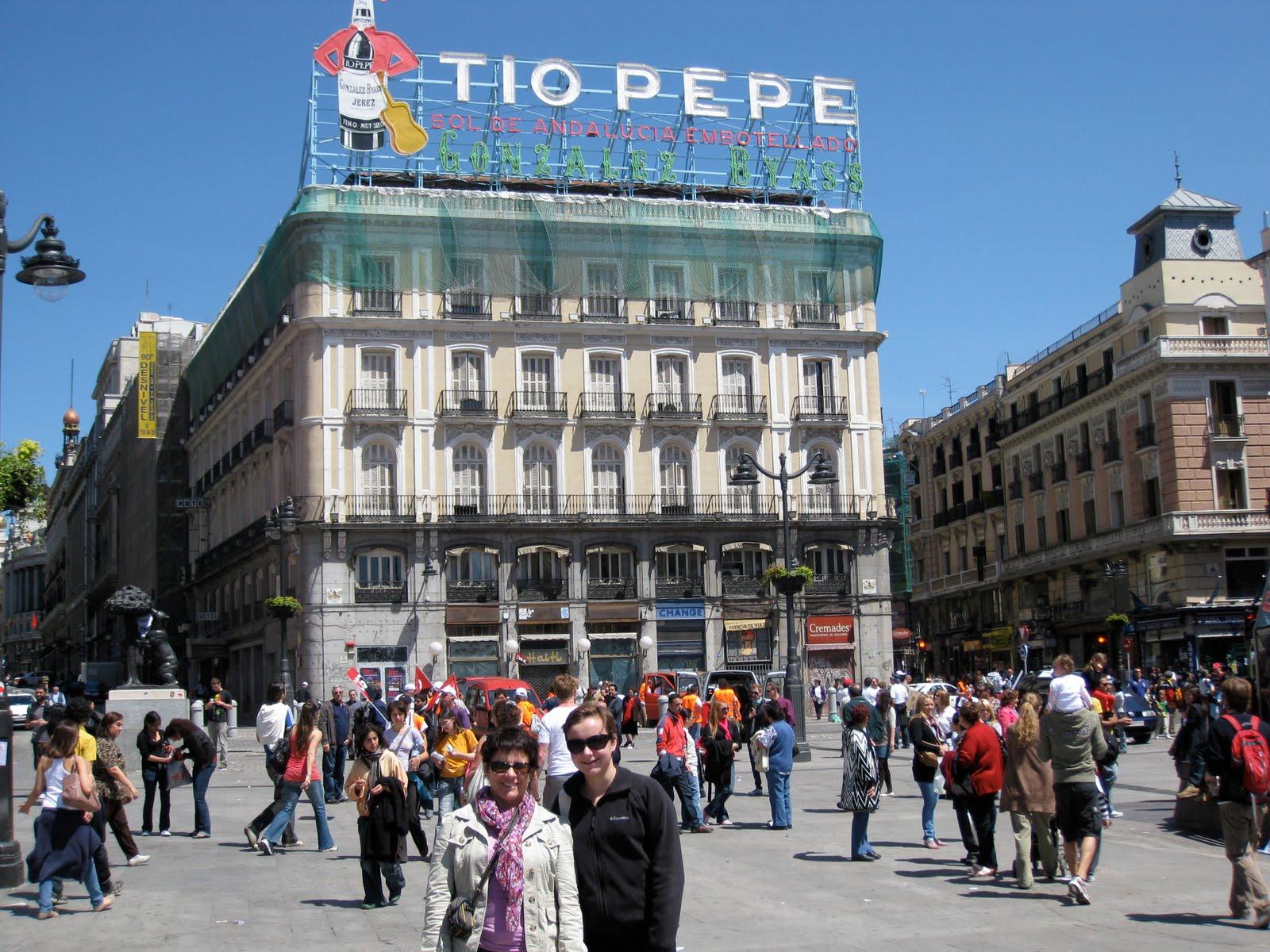 Spain 2010 monday 5 17 10 madrid for Tio pepe puerta del sol madrid