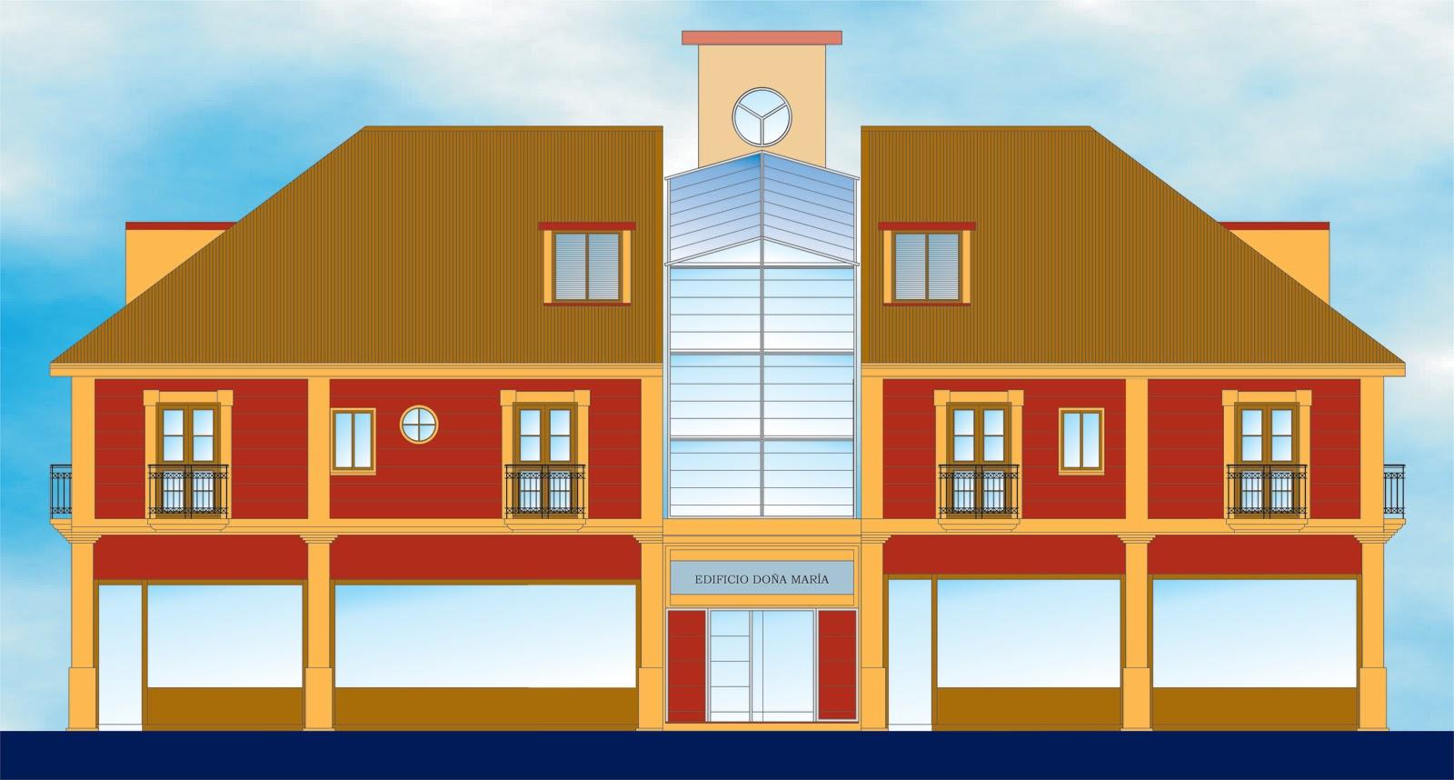 Arquisurlauro promociones edificio plurifamiliar de doce viviendas en duplex locales - Garaje paco ...