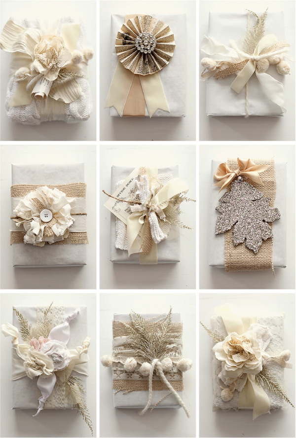 White wardrobe christmas gift wrapping ideas for Unique ideas for christmas gifts