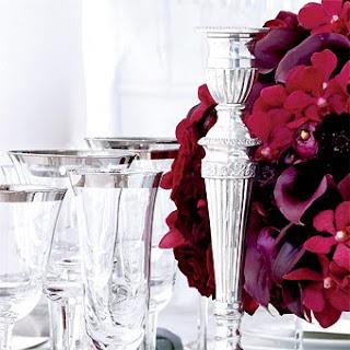 Arranjo+vermelho+2 Detalhes de uma mesa!