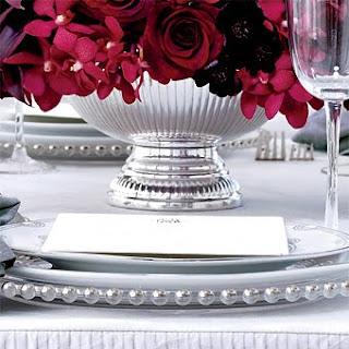 Arranjo+vermelho+4 Detalhes de uma mesa!