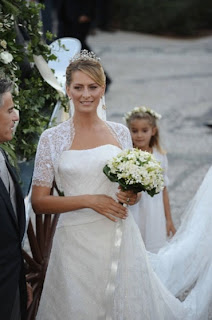 Tatiana Blatnik Nikolaos Greece Casamento Real...!
