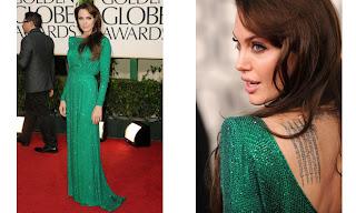 5 Angelina Jolie no Golden Globe Awards!