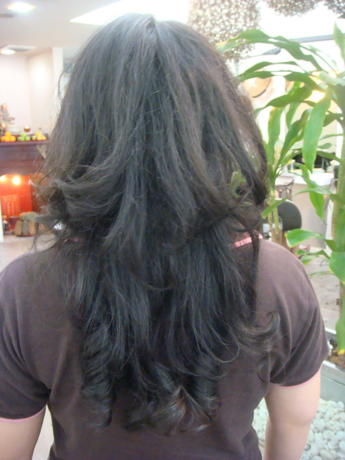 how to curl long hair start from front or back