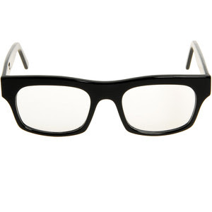 Typical Black Square Glasses