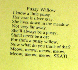 poem pussy willow