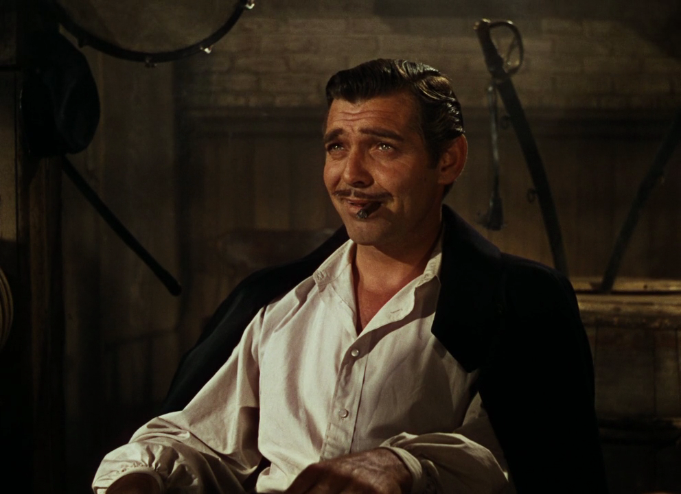 Image result for clark gable in gwtw movie