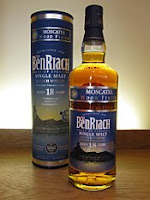benriach 18 years old moscatel finish