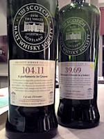 linkwood and glen craig smws bottles