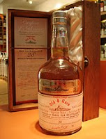 caol ila 28 years old 'old & rare' bottle and wooden box