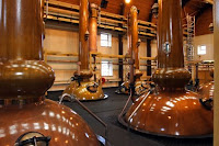 the stillroom at glenmorangie distillery