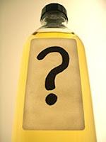 mystery dram bottle