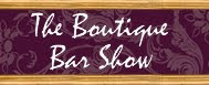 the boutique bar show logo
