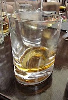 whyte & mackay whisky in a glass