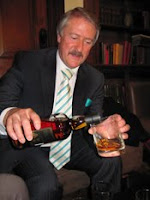 richard paterson pouring us a dram