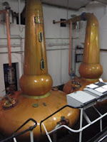 stills at knockdhu distillery