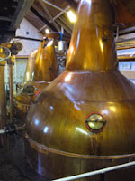 stills at balblair distillery