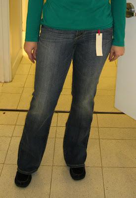 Smaller milf ass in jeans