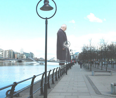 Antony Gormley Dublin Sculpture