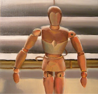 Daily Oil Painting, Still Life, Mannequin