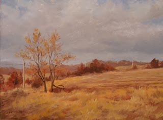 Daily Painting, Oil, Landscape, Volo