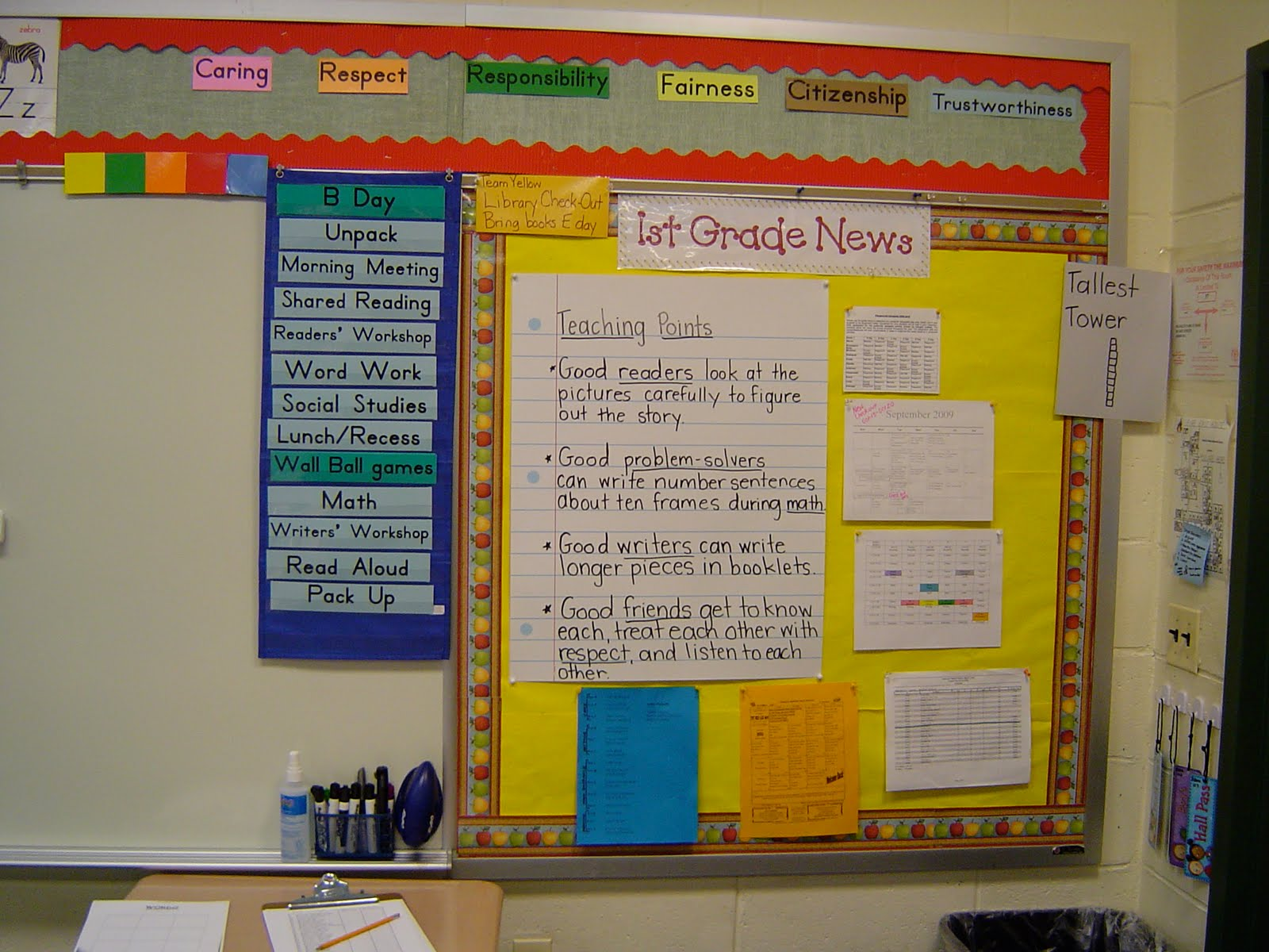Classroom Newspaper Ideas : Workshop classroom setting up the