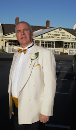 My best mate Ian Adshead - The Father of the Bride at Aintree
