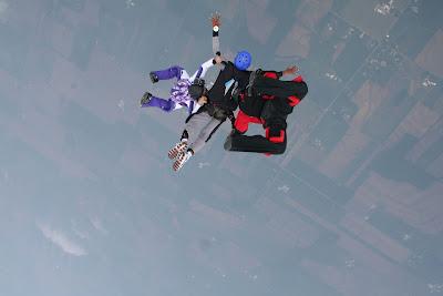 Narrative essay on skydiving