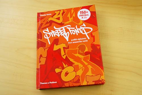 Street art fonts book — Graffiti Alphabets