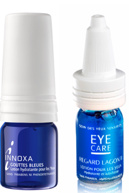 Gouttes Innoxa VS Gouttes Eye Care Lagon II
