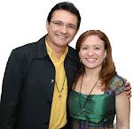 Nosso Fundador, Luiz Carvalho e nossa Responsável Local, Araciana Matias