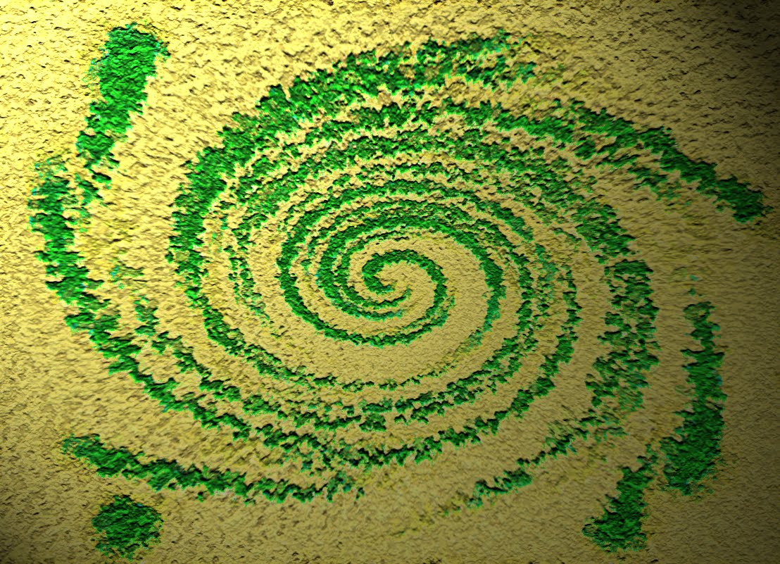 nothing is real crop circles