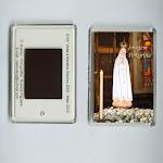 Ímanes em Acrílico com imagens diversas da Virgem Peregrina.