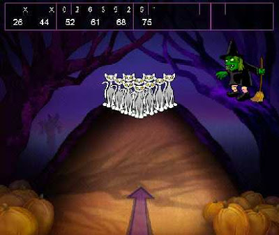 Hallowen Bowling Game