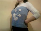 bluza tricotata de dama 002 pret 125 ron