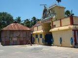 Front view of Mathusoothana perumal temple