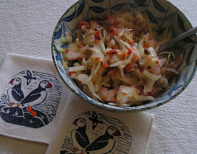 Cabbage with Salsa