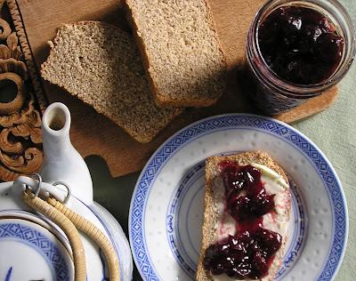 Homemade Cherry Currant Jam