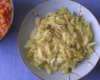 Indian Style Cabbage