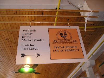 Owen Sound Farmers Market Local Label