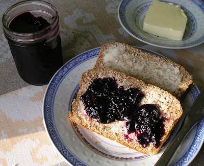 Lemony Blueberry Jam