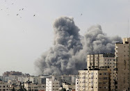 Israeli Air Force attack Gaza Dec-27-2008.