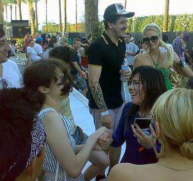 CSS and Paris Hilton, Coachella 2007