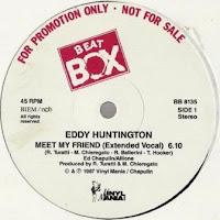 EDDY HUNTINGTON - Meet My Friend (1987)