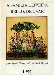 LIVRO DA FAMILIA OLIVEIRA BELLO DE OVAR - PORTUGAL-