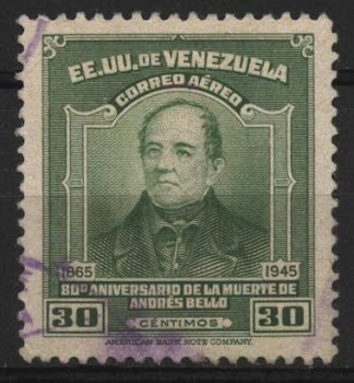 SELO VENEZUELANO -ANDRES BELLO