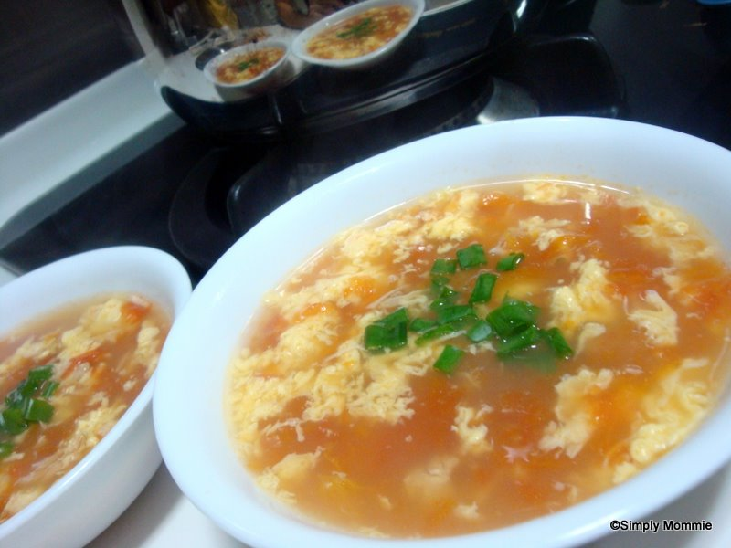Tomato egg drop soup   Simply Mommie